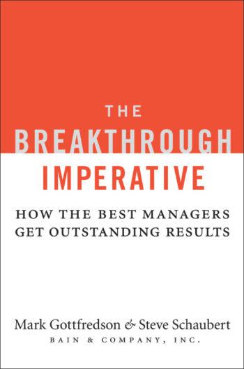 The Breakthrough Imperative