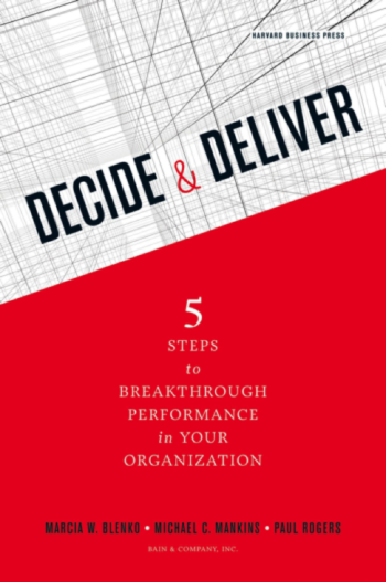Decide and Deliver